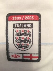 England 2003-2005 National Reversible Football Jersey St. John's Newfoundland image 4