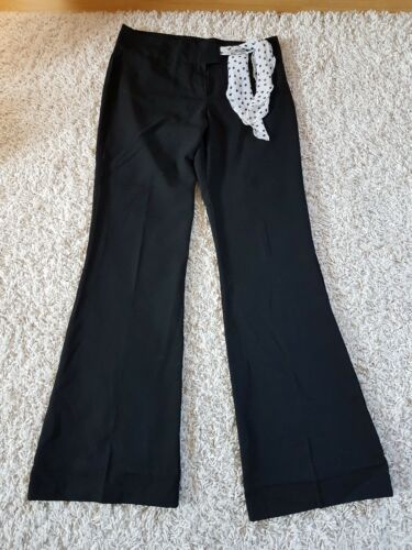 Pantalon noir fluide chic neuf 38