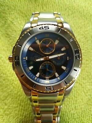 ARMITRON MENS WATCH, BLUE FACE NEW WITH TAG. MINT AAA+++++++++++++++++++++++++++ for sale  Shipping to India