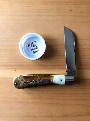 Great Eastern Cutlery GECTidioute 93 Oily Creek Bone Ram's Foot Knife
