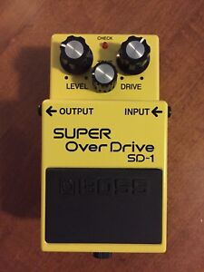 Boss SD-1 Overdrive Pedal