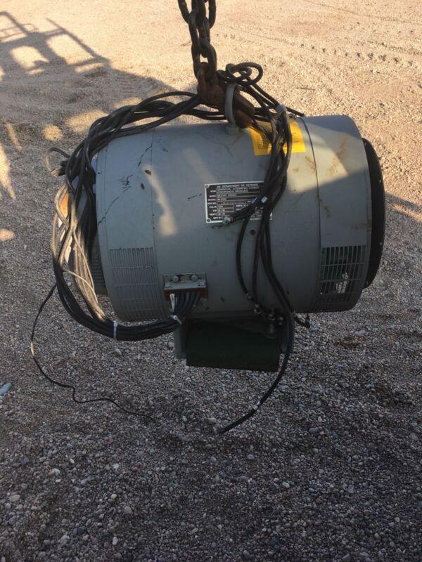 Mep 805b 30 kW Marathon Generator Military Off John Deere 4045 Genset 480v 240v