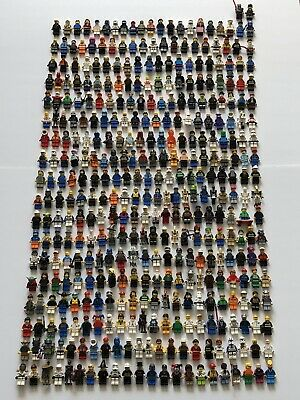 10x Random Genuine Lego Minifigures! Star Wars, Indiana Jones, Minecraft, City..