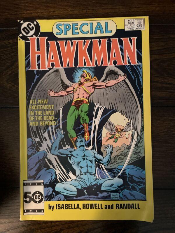 HAWKMAN SPECIAL #1 DC COMICS 1986 NEWSSTAND EDITION