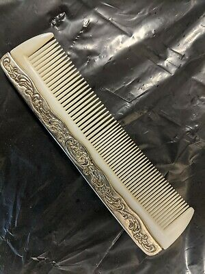 Victorian Wigs, Hair Pieces  | Victorian Hair Jewelry Antique victorian Hair Comb Silver plated $16.72 AT vintagedancer.com