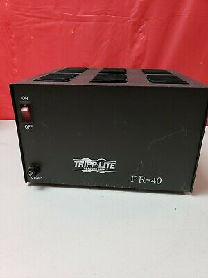 Tripp-lite Pr-40b Regulated Dc Power Supply 13.8v 40a Ham Radio 12v Tested