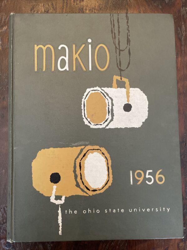 1956 MAKIO Ohio State University Yearbook