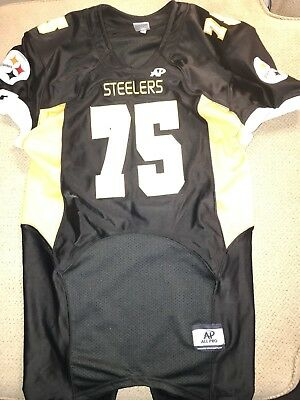 221f8be13 Men's Small Game Used Authentic Steelers High School Football Jersey