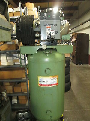 Sullair 10 Hp Rotary Screw 460v 3ph Air Compressor W80 Gallon Tank New 1993
