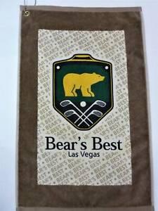 Bear's Beast Las Vegas Golf Towel New