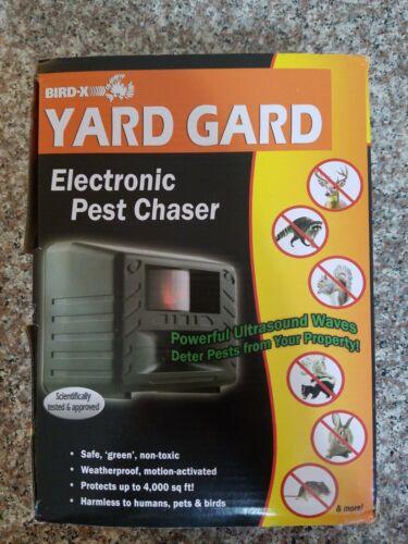 Bird-X YARD GARD GUARD Ultrasonic Animal Pest Repeller Dog C