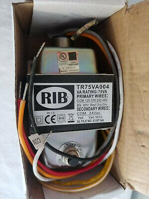 Rib 75va Transformer Tr75va004 Black White Red Orange Gray Wires
