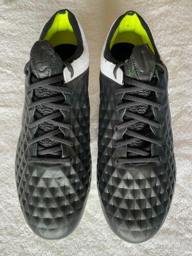 Nike Tiempo Legend 8 Elite FG Size 7.5 Black/White