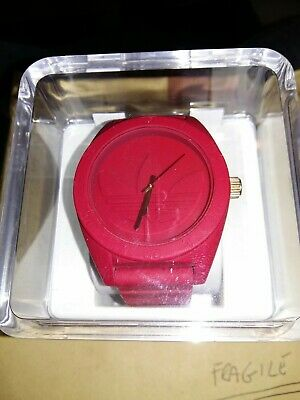 Adidas Originals Santiago XL TreFoil Watch Red / Gold