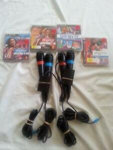 **Playstation 3 Singstar-Games+Mics** Hurstville Hurstville Area Preview