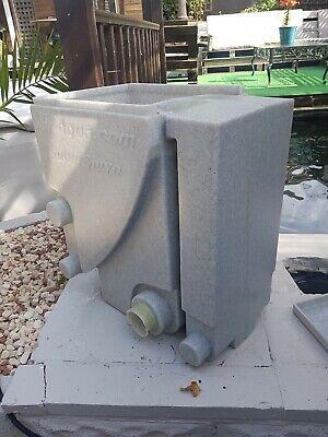 koi pond sieve filter pump fed