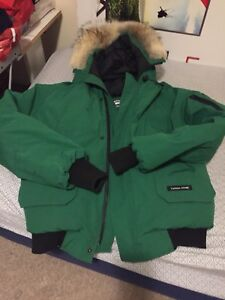 CANADA GOOSE CHILLIWACK BOMBER GREEN LARGE