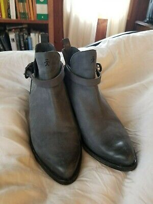 Henry Beguelin ankle boot grey sz 38