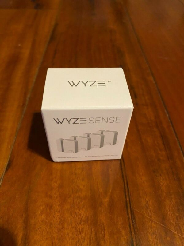 New in Box Wyze Sense Contact Sensor Kit (WHCSB) 4x sensors