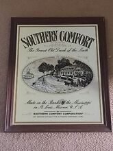 Vintage Southern Comfort Bar Mirror Reedy Creek Gold Coast South Preview