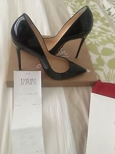 Christian Louboutin Black Patent Heels GENUINE with receipt Pascoe Vale Moreland Area Preview