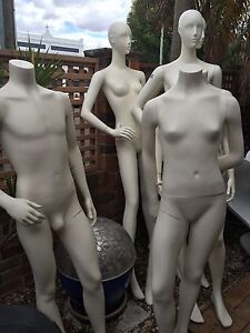 Female Male Teenager  mannequins Can Deliver Botany Botany Bay Area Preview