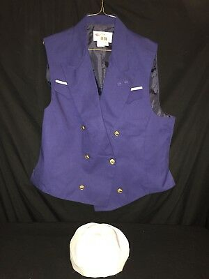 Disney Cruise Ship Outfit - Mens  HAT & VEST  , Sailor