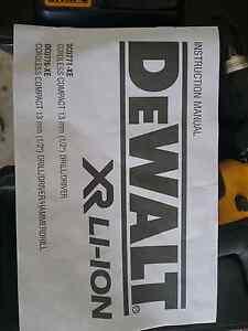 Dewalt  18volt drill 2x batteries and charger. Redbank Plains Ipswich City Preview