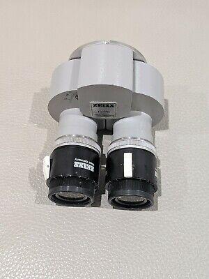 Carl Zeiss F170 Straight Binocular W12.5x Eyepiece For Opmi Surgical Microscope