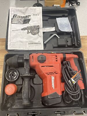 Bauer 1641e-b Demolition Hammer Kit