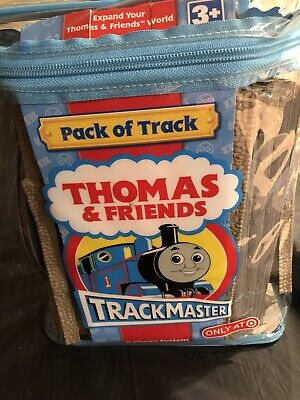 Thomas & Friends Trackmaster Tan Deluxe Expansion Track Pack 45 PC Lot Backpack