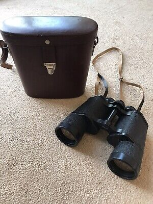 Cased Carl Zeiss DDR Jena Jenoptem 10x50W Multi-coated Binoculars - SNo 5601573