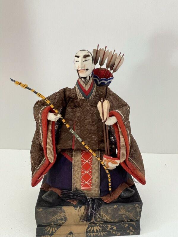 Vintage Japanese Doll: Sitting Archer (Z25)