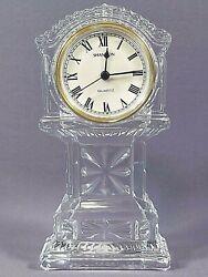 Mini Grandfather Clock Godinger Shannon Crystal Designs Quartz Clock  6.75