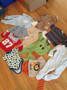 EUC Boy's Mixed Clothing Lot 10 pieces 6-12 months
