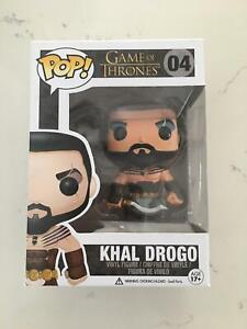 BRAND NEW Pop Vinyl: Game Of Thrones #04 KHAL DROGO