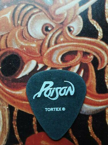 POISON C.C. DeVille black guitar pick