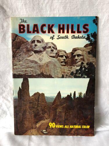 Vintage Black Hills of South Dakota Souvenir Book Parks Sites Attractions Cities
