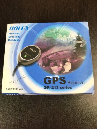 Holux GR-213 SIRF Star III GPS Receiver Mouse USB PS2 for Laptop Notebook PDA
