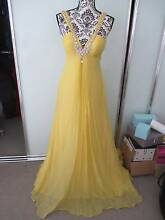 Brand new never worn with tag - yellow floor length dress/gown Erskineville Inner Sydney Preview