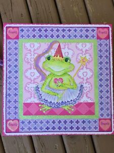 Pair of Frog Princess Canvas Prints for Sale!