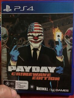 Payday2 ps4 playstation 4 game  Curl Curl Manly Area Preview