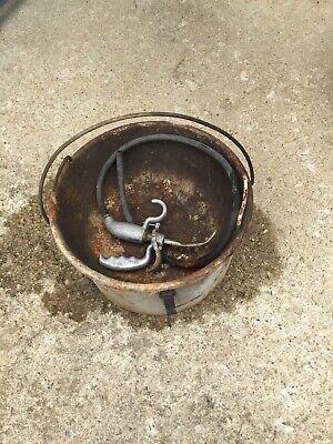 Ridgid 318 Oil Bucket With Oil Gun Oiler For 300 700 Pipe Threader