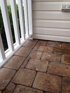 Concrete brown pavers Mosman Mosman Area Preview