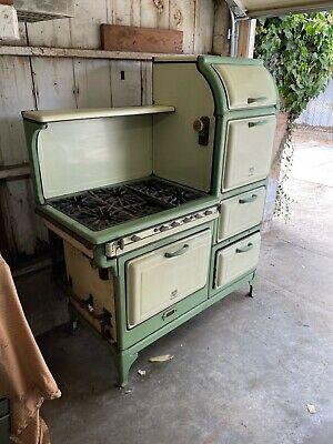 1930's Antique Clark Jewel (Magic  Chef) Stove 6 Burners 2 Ovens *Project Stove*