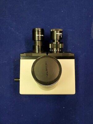 Olympus Microscope Trinocular Head For Bh2 Bh-2 W Eyepieces Whk