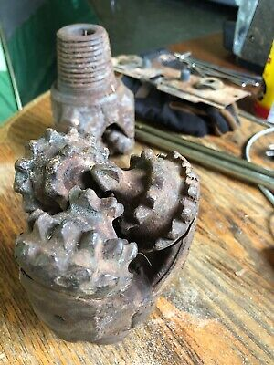 Rock Drill Bit 4.5 Tricone Rollerbit Gas Oil Water Well Drilling Carbide 4 12