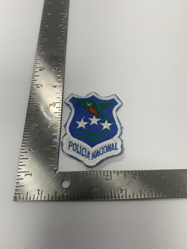 GUATEMALA NATIONAL POLICE FORCE PATCH POLICIA