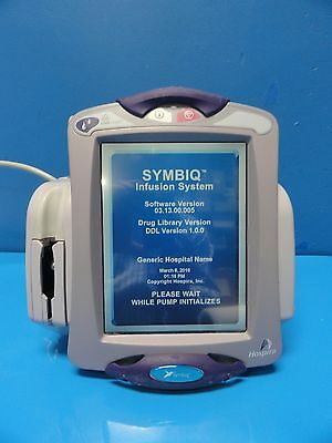 Abbot Labs Hospira Symbiq Single Channel Infusion Pump Infusion System 10444