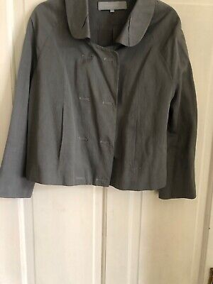 Alexander Wang Grey Jacket Size 6  Uk 8-10